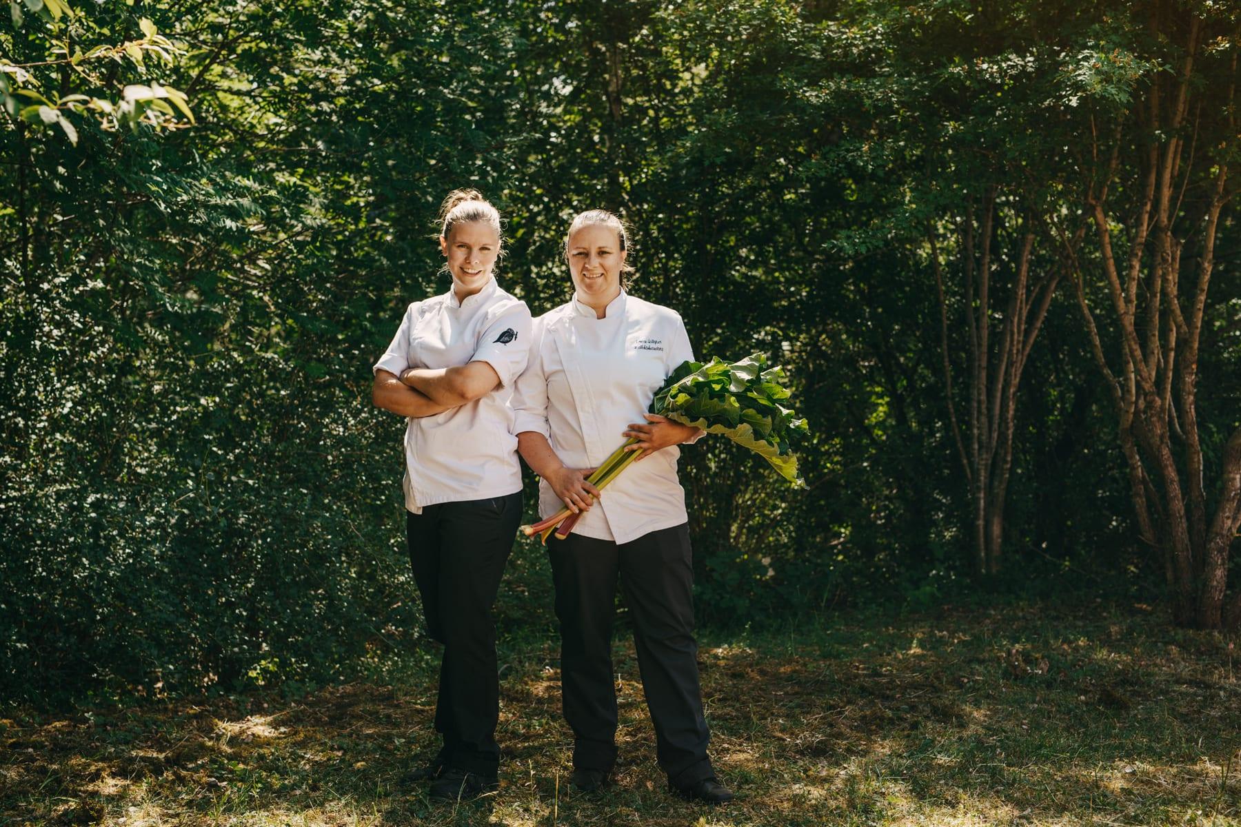 Sigtuna Summer Herb garden