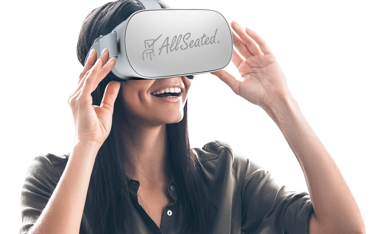 allseated virtual reality system